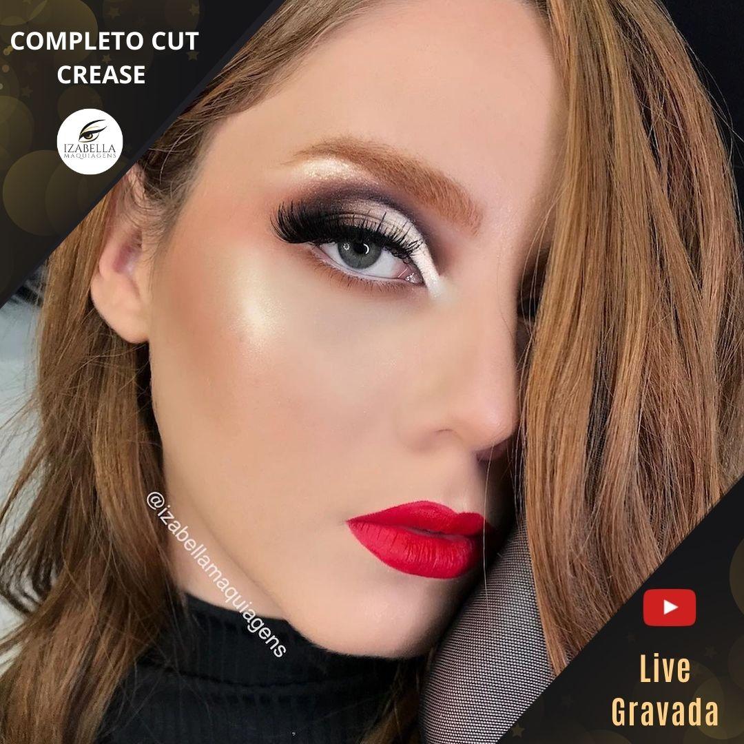 Curso Online - Cut Crease Completo  (Live Gravada)