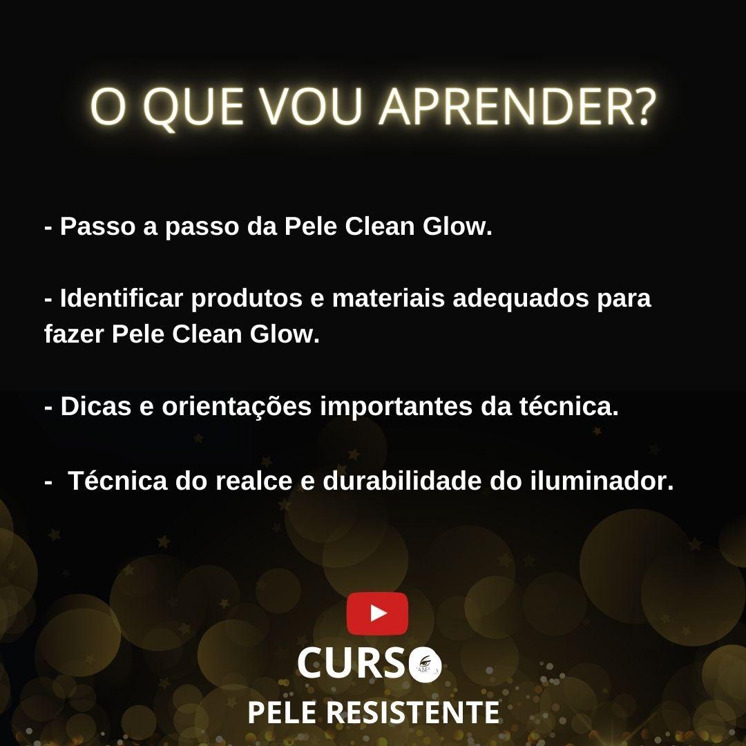 Curso online - Pele Glow Clean - (Live Gravada)