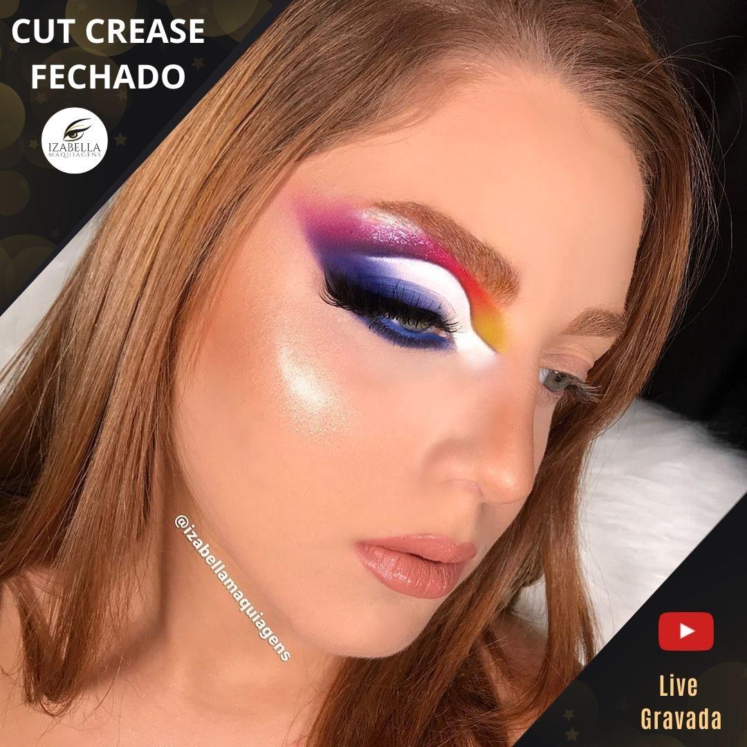 Curso Online - Workshop Segredos dos Maquiadores Famosos 05 - Cut Crease  (Live Gravada)