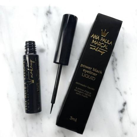 Delineador Líquido Power Black Eyeliner - Ana Paula Marçal