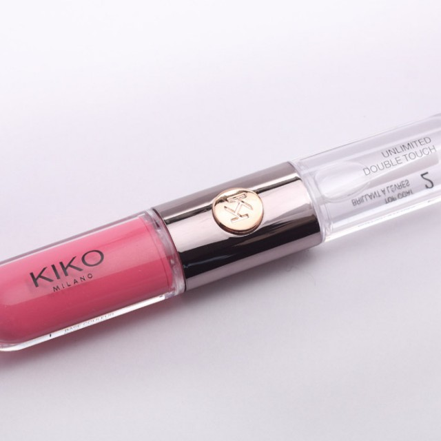 Gloss Kiko Milano Unlimited Double Touch Liquid Lip Colour