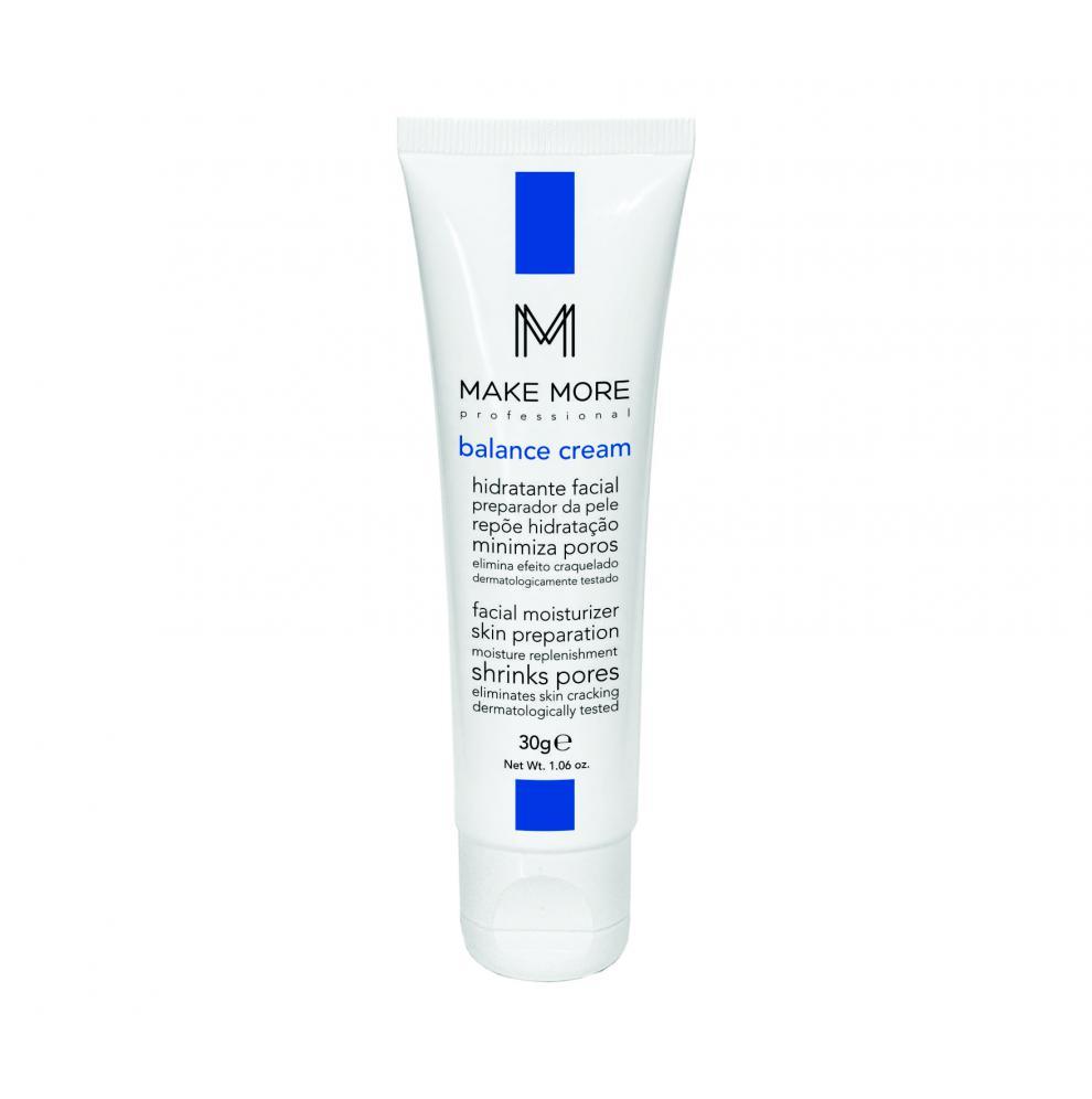 Hidratante Facial Balance Cream - Make More - MM 30g