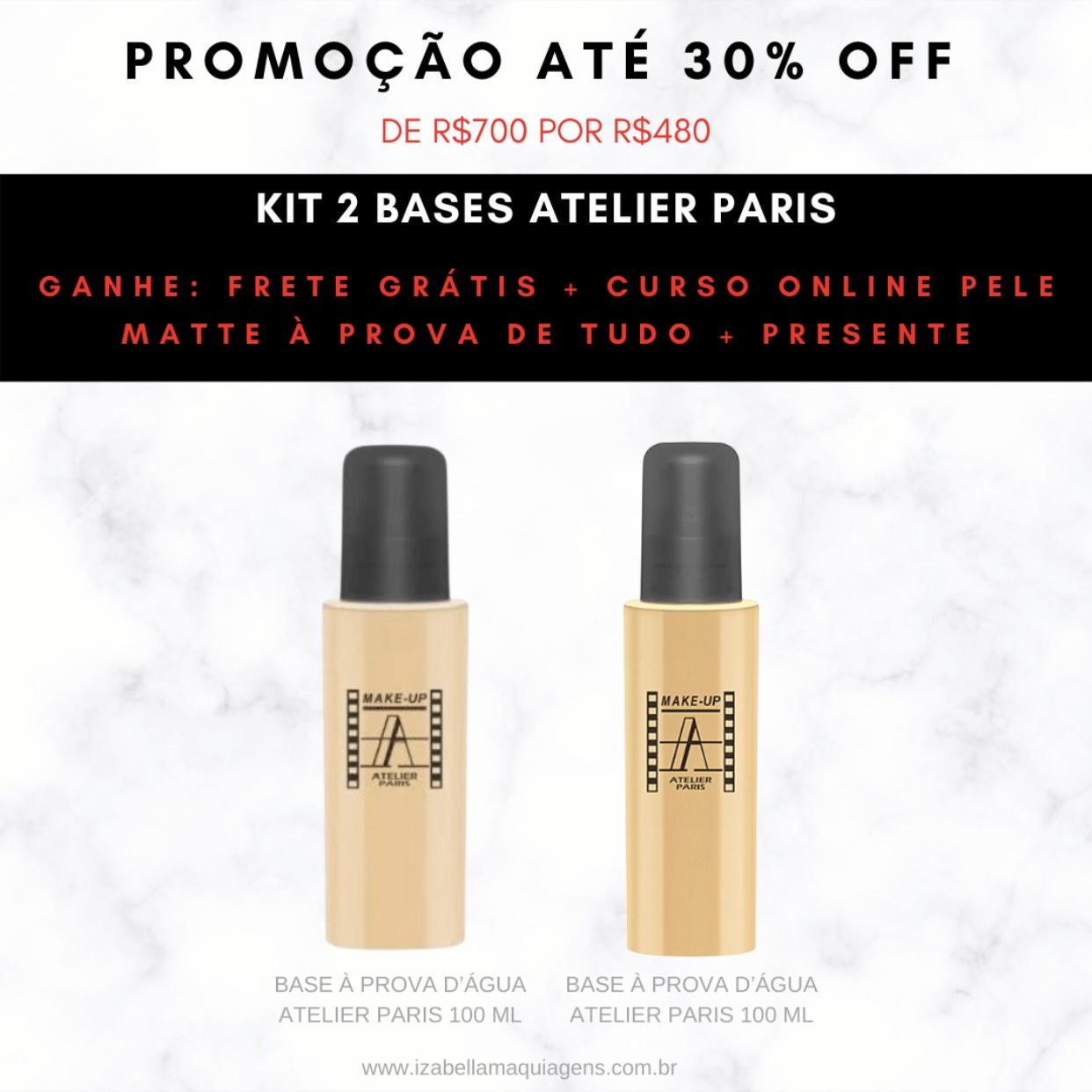 Kit Base Atelier Paris 100ml 1Y + 2Y
