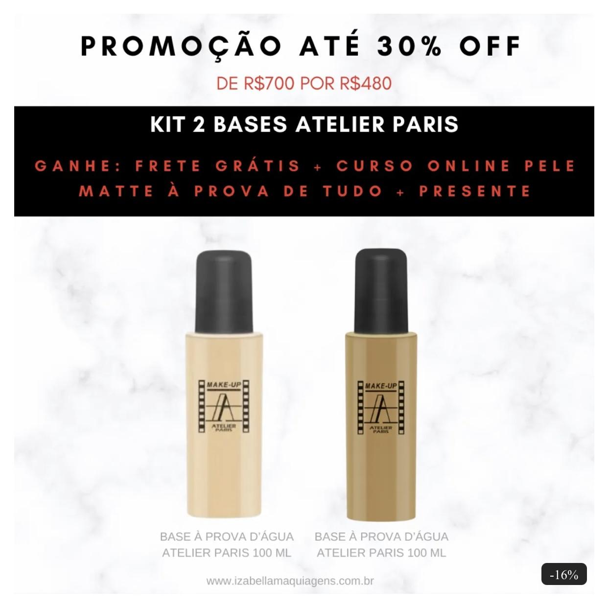 Kit Base Atelier Paris 100ml 1Y + 4Y