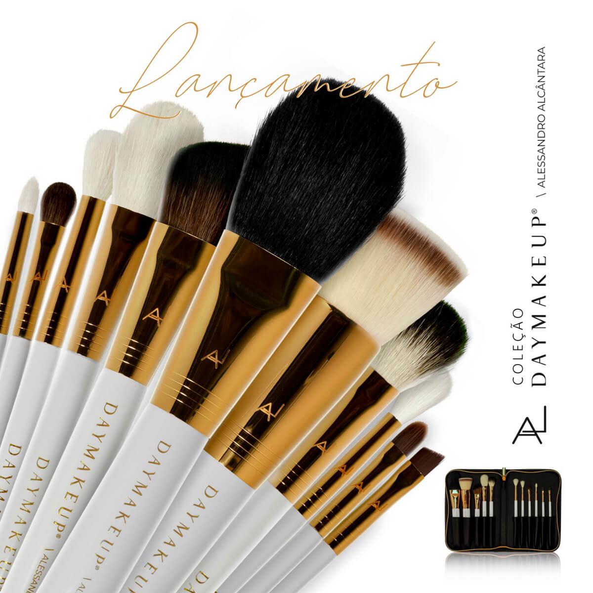 Kit de pinceis- Alessandro Alcântara - Day Makeup