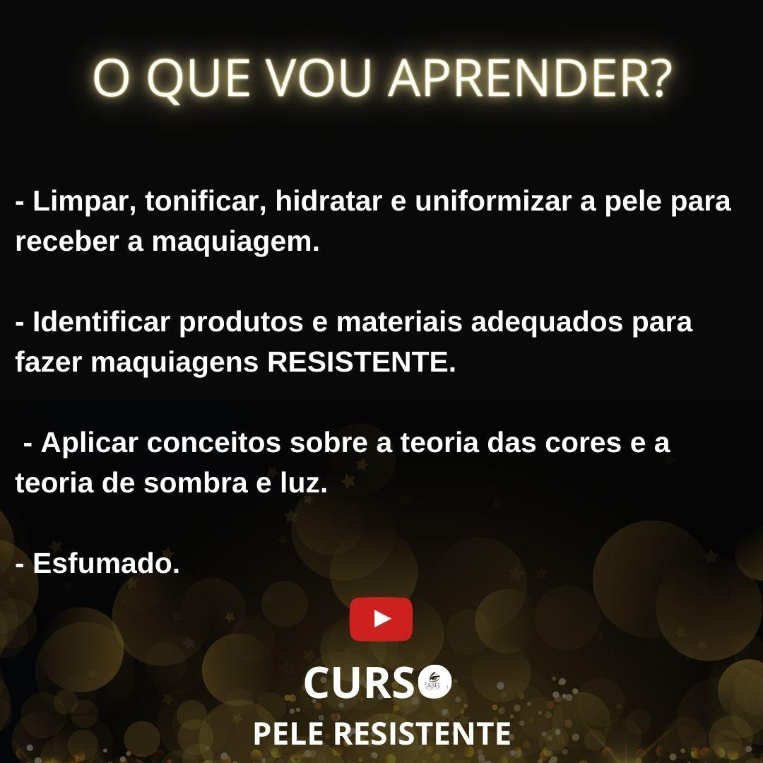 Curso online - Make Ultra Resistente + Esfumado Infinito (Live Gravada)