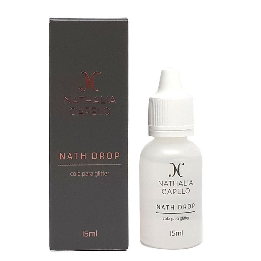 NATH DROP  - Cola para glitter sem álcool - Nathalia Capelo