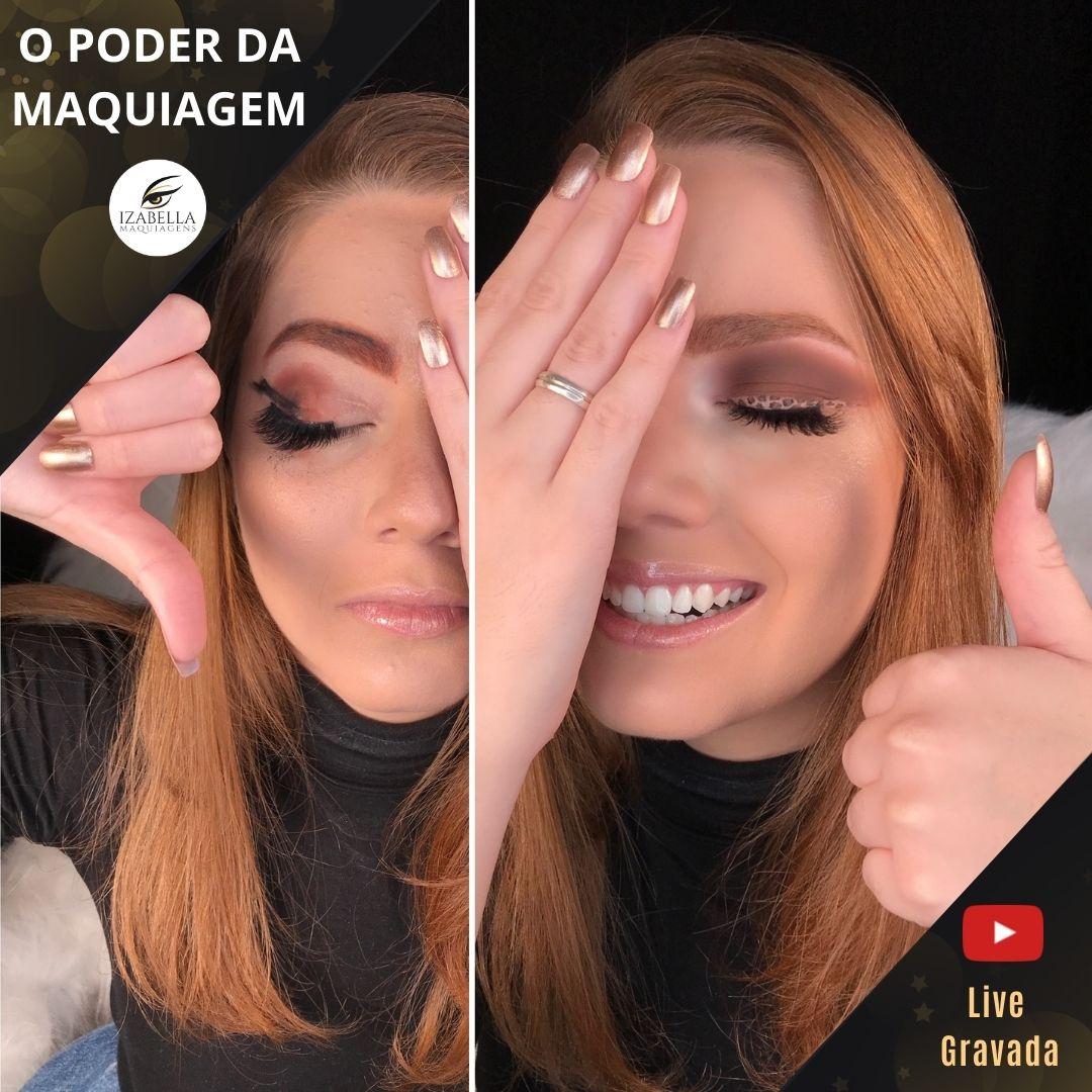 Curso Online - O Poder da maquiagem (Live Gravada)