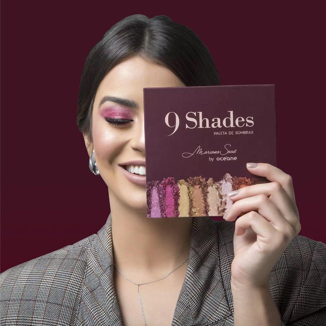 Paleta de Sombras 9 Shades - Mariana Saad