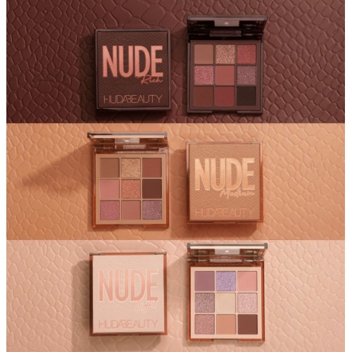 Paleta de Sombras Mini NUDE Obsessions - Huda Beauty