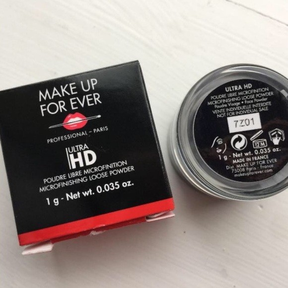 Pó solto Ultra HD travel size- Make Up For Ever