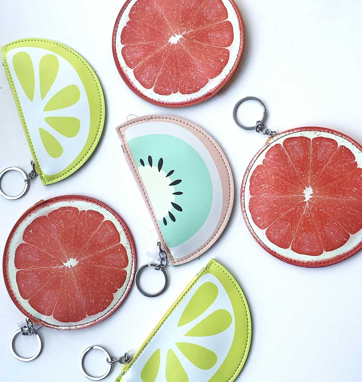 Brinde Porta Moeda Frutinhas