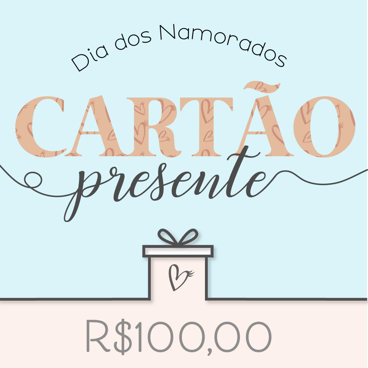 Cartão Presente Sweet R$100,00