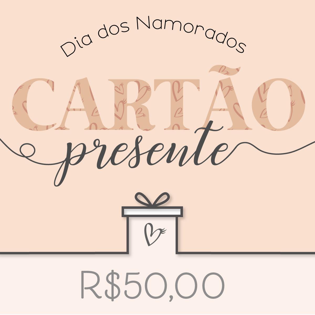 Cartão Presente Sweet R$50,00