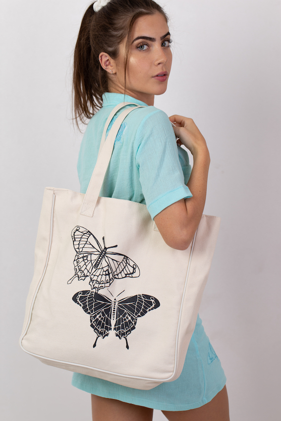 TOTE BAG BUTTERFLY