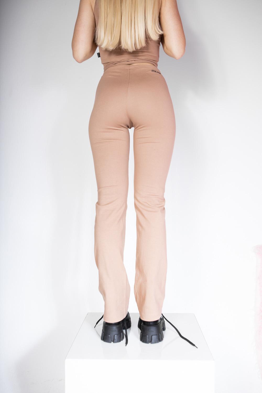 YOGA PANTS BEGE