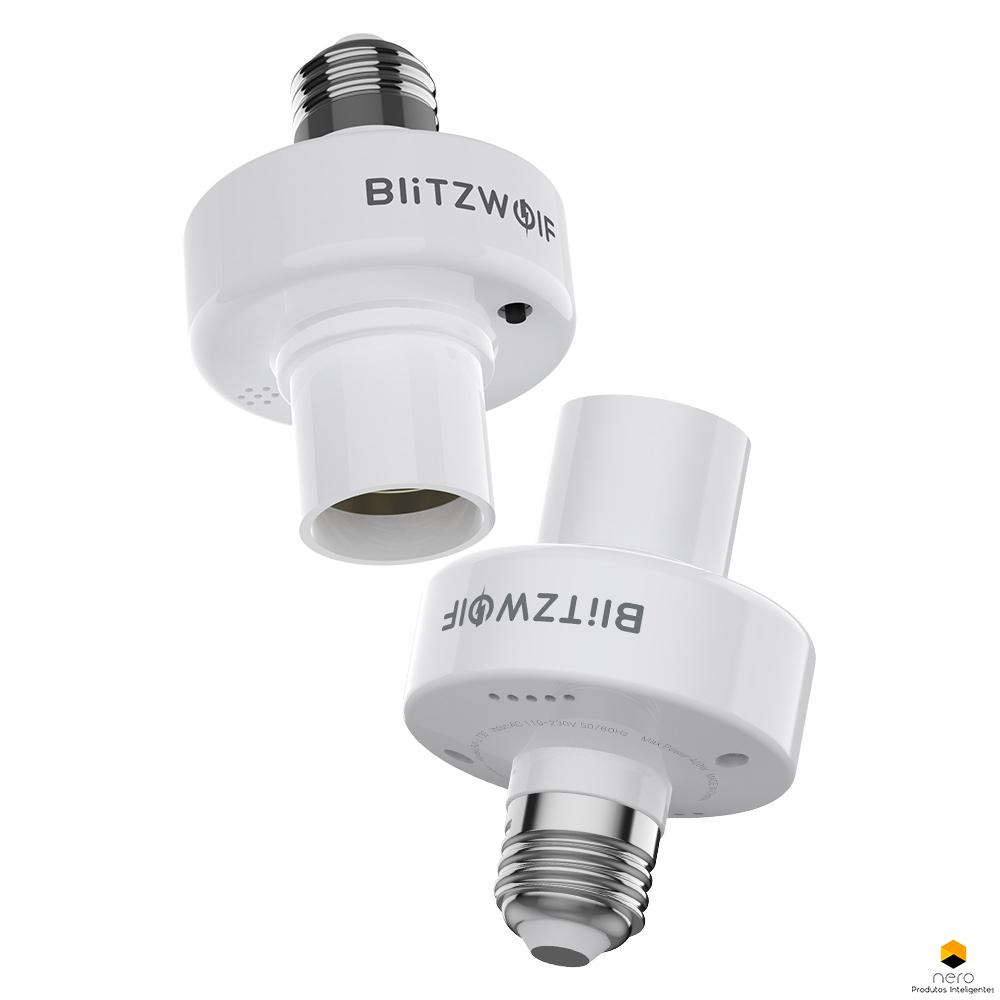 Blitzwolf Bw-lt30 E27 Suporte Lâmpada Wifi Alexa E Google
