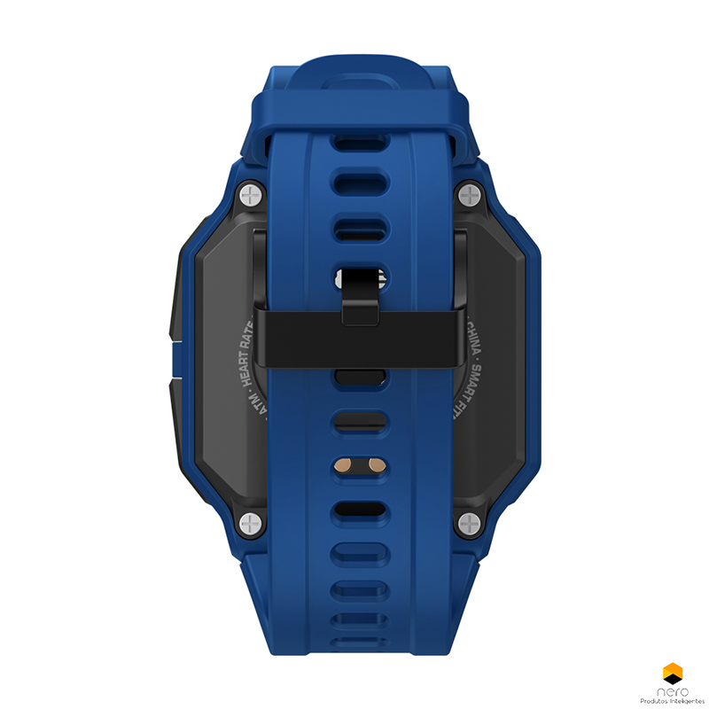Smartwatch Zeblaze Ares Blue Monitor Pressão Arterial/cardíaco