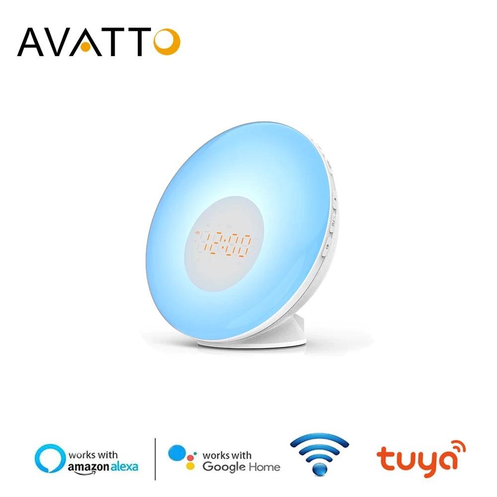 Despertador Wifi Avatto Alexa Google Home