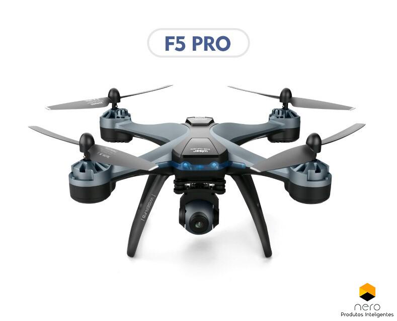 Drone 4DRC F5 PRO 3 BATERIAS/GPS/MALETA/2KM