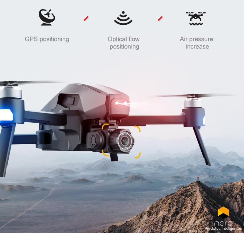 Drone 4DRC M1 Pro GPS WiFi 6K Câmera 2 eixos