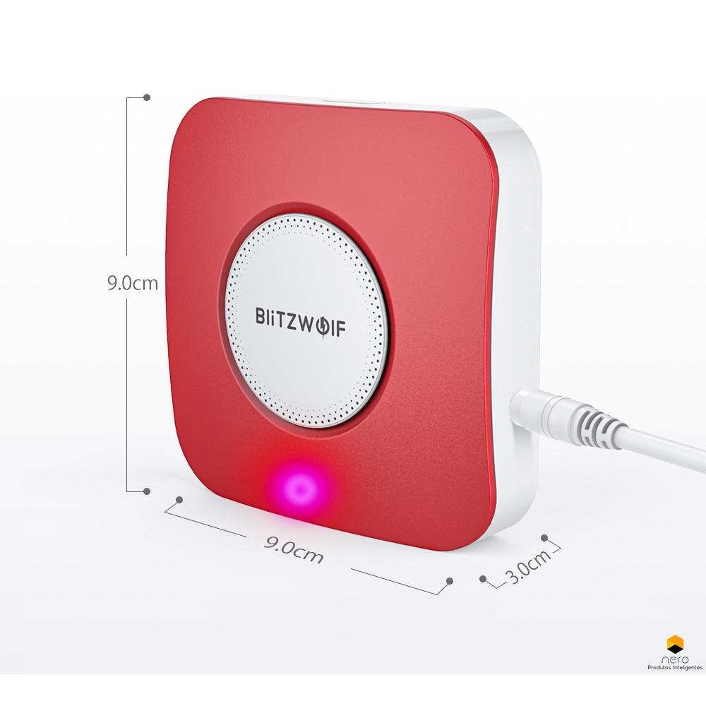 Sirene Wifi Blitzwolf® Bw-is11 Tuya/Smart Life