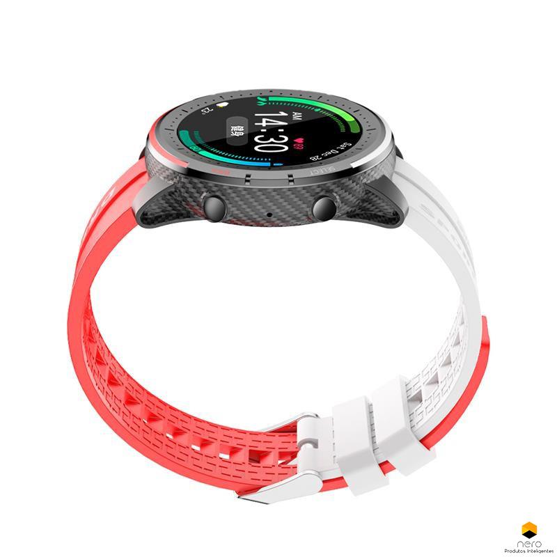 Smartwatch Bakeey LV69 Chamadas Bluetooth Ecg/bpm