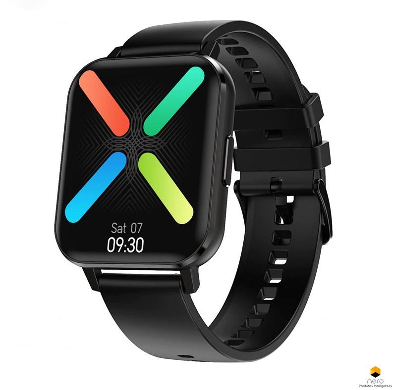 Smartwatch Dt No.1 Dtx Black Tela Infinita Ecg+bpm+spo2