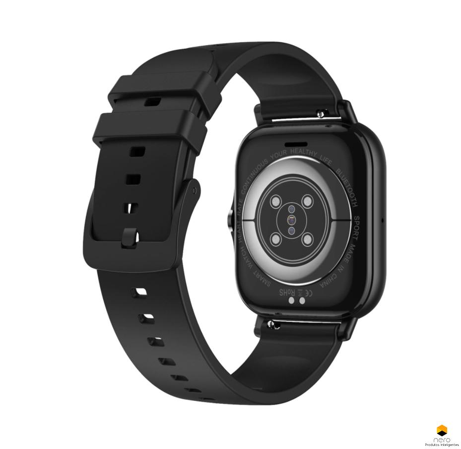 Smartwatch Dtx 2 Black Tela 1,78 Chamadas Bluetooth Ecg/bpm