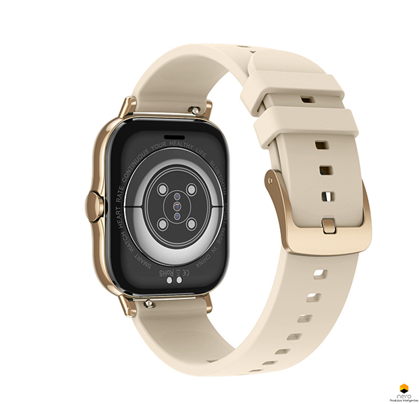 Smartwatch Dtx 2 Gold Tela 1,78 Chamadas Bluetooth Ecg/bpm