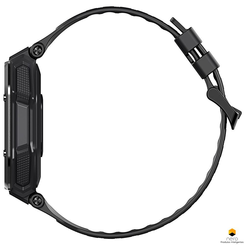 Smartwatch Kospet Rock Black Anticolisão Spo2/bpm