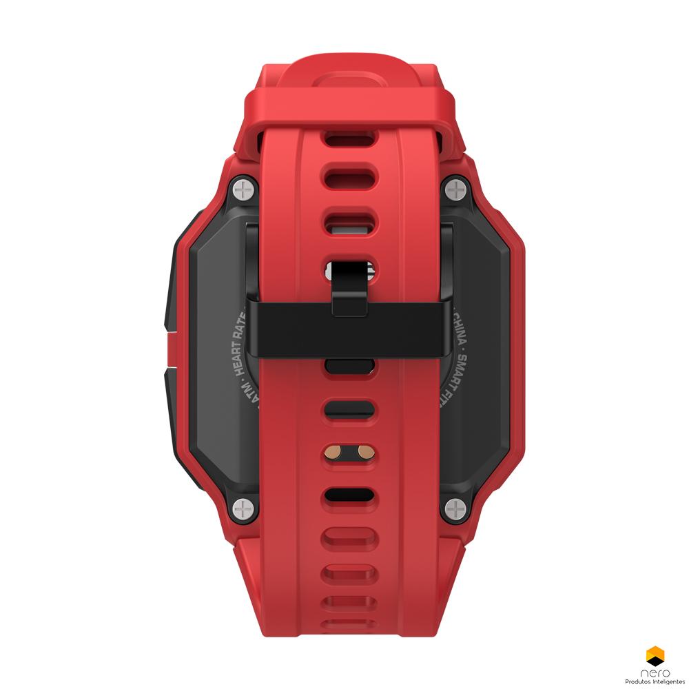 Smartwatch Zeblaze Ares Red Monitor Pressão Arterial/cardíaco