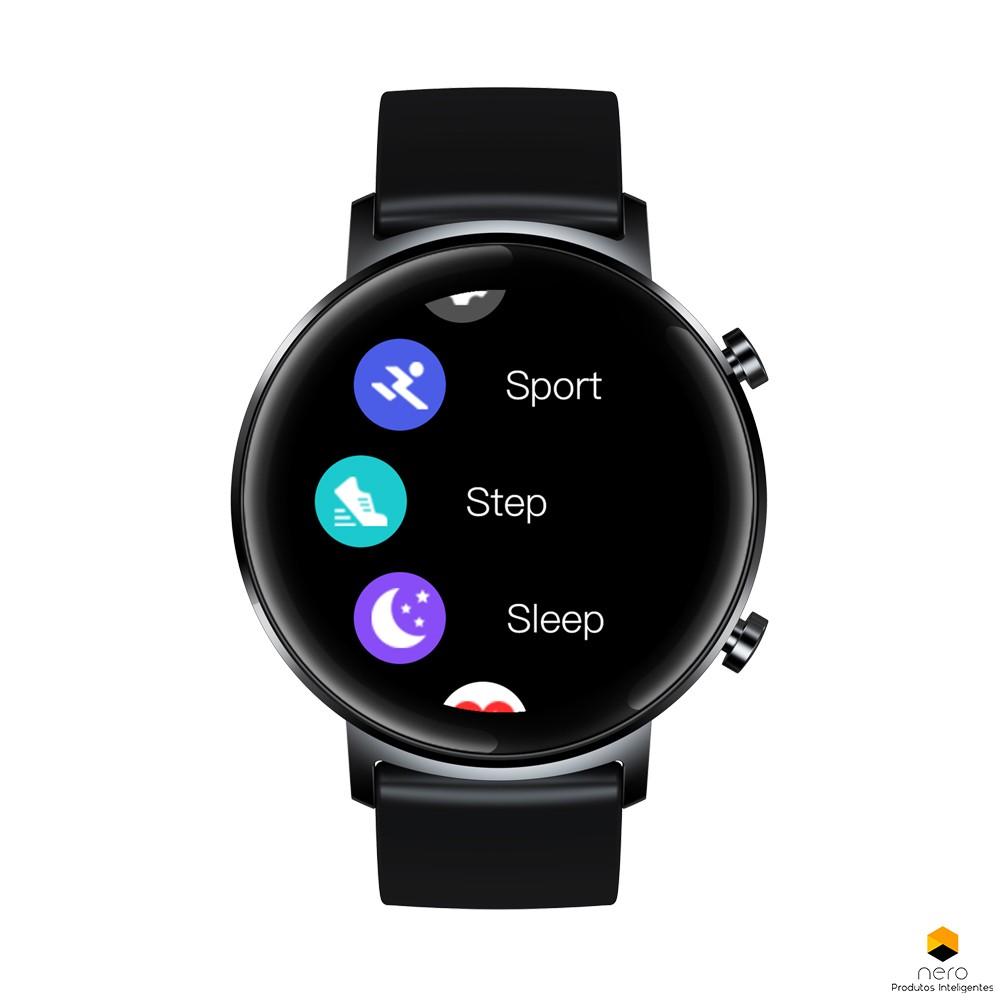 Smartwatch Zeblaze Gtr BlackSPO2/BPM