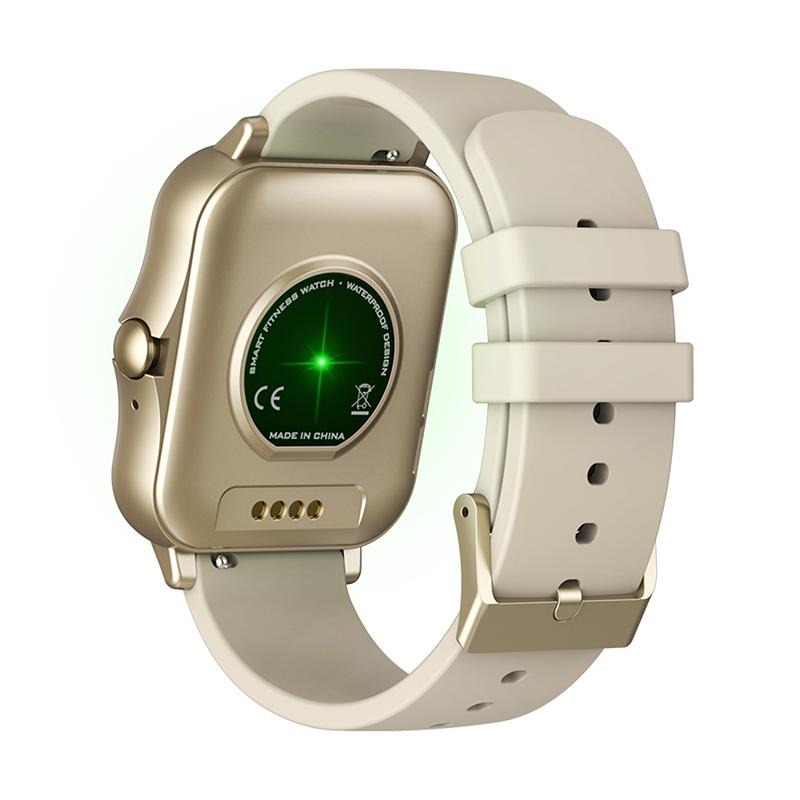 Smartwatch Zeblaze Gts 2 Gold Recebe/faz Chamada Bluetooth