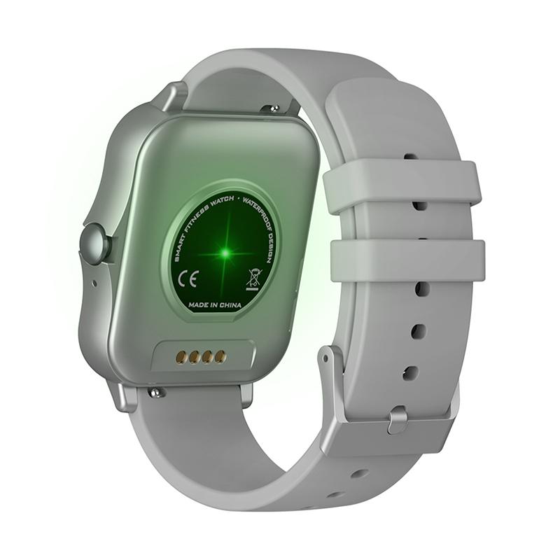 Smartwatch Zeblaze Gts 2 Silver Recebe/faz Chamada Bluetooth