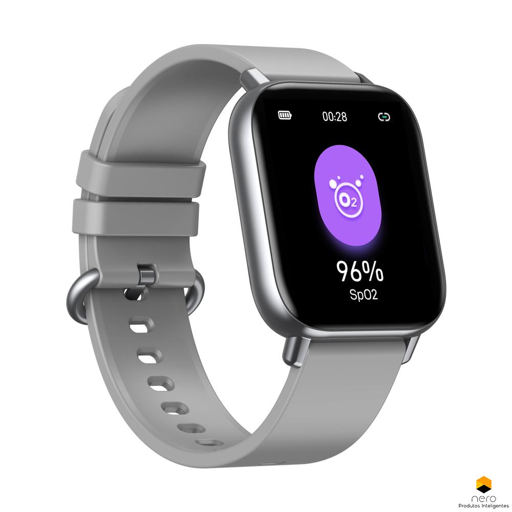 Smartwatch Zeblaze Gts Pro Silver Spo2/bpm