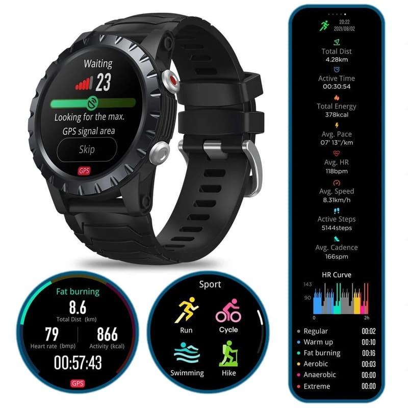 Smartwatch Zeblaze Stratos Black
