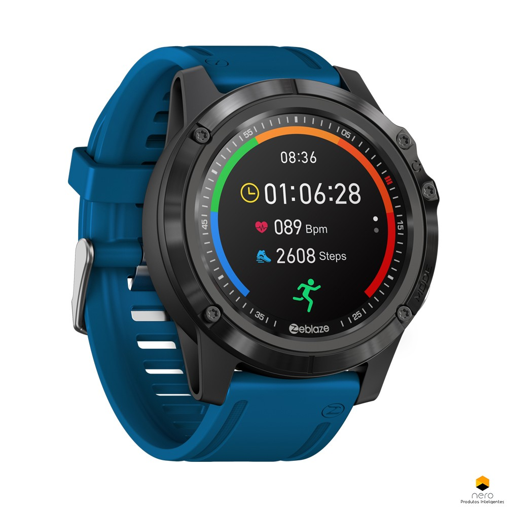 Smartwatch Zeblaze Vibe 3s HD Blue SPO2/BPM