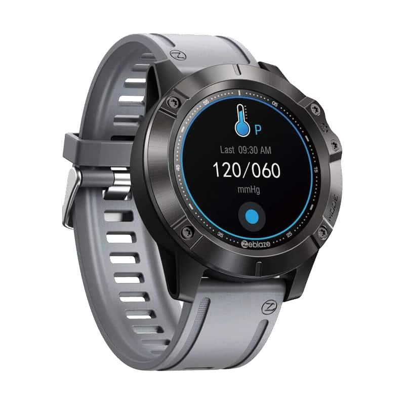 Smartwatch Zeblaze Vibe 6  Gray Chamada Bluetooth