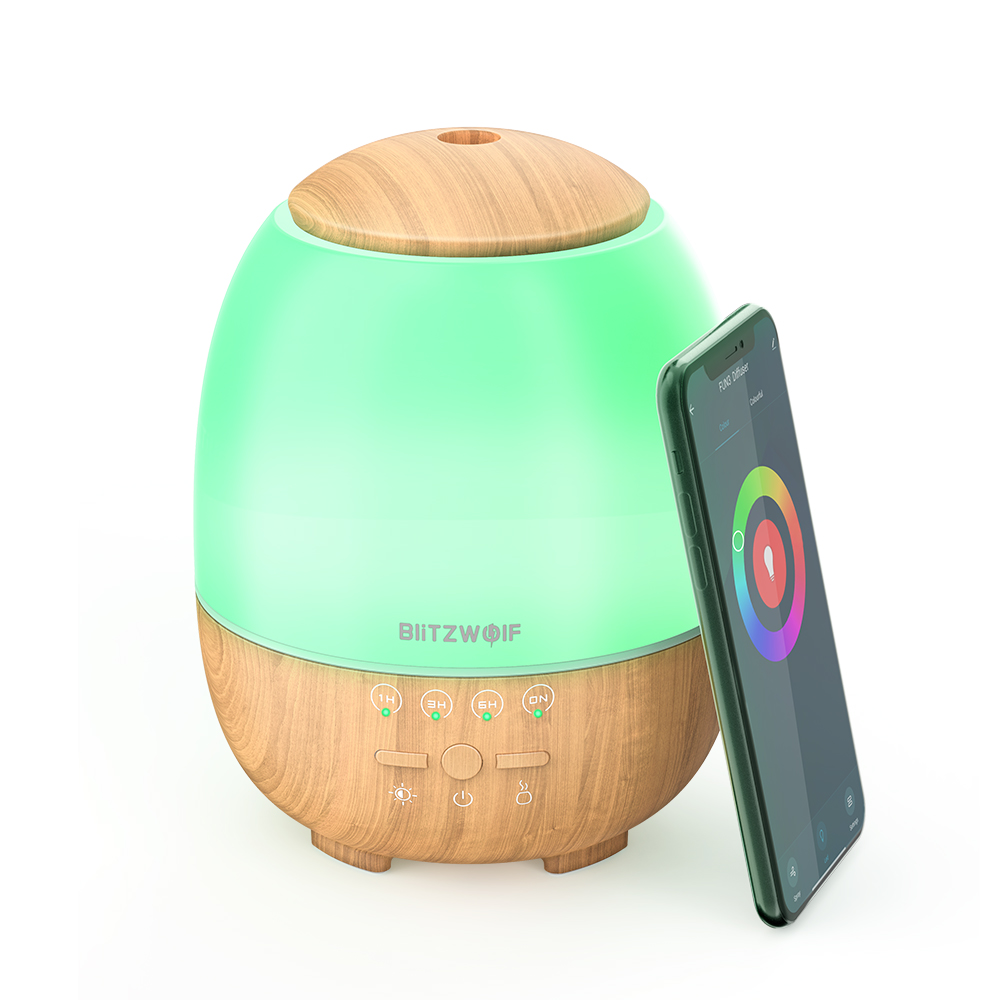 Umidificador Difusor BlitzWolf® BW-FUN3 Wi-Fi  Alexa/Google Home