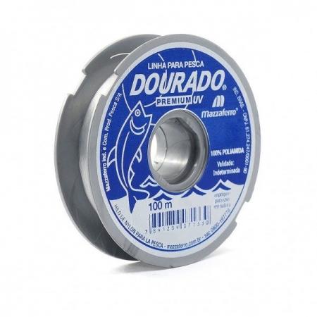 9430 LINHA P/ PESCA DOURADO PREMIUM 0,20 100M BRANCO ( )