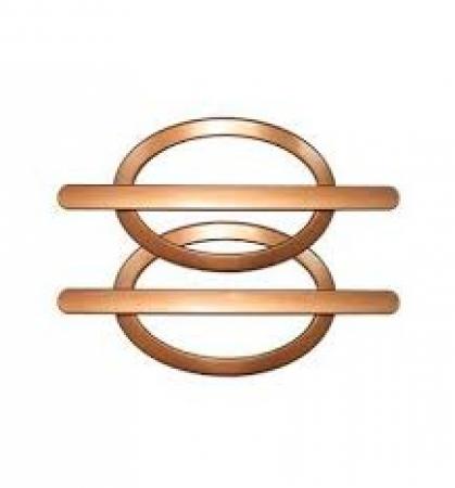 FIVELA OVAL ROSE GOLD (PAR)