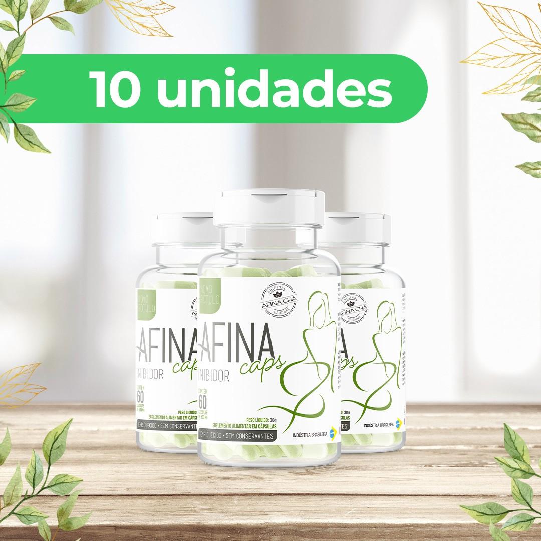 Kit Afina Caps - Pack com 10 Unidades