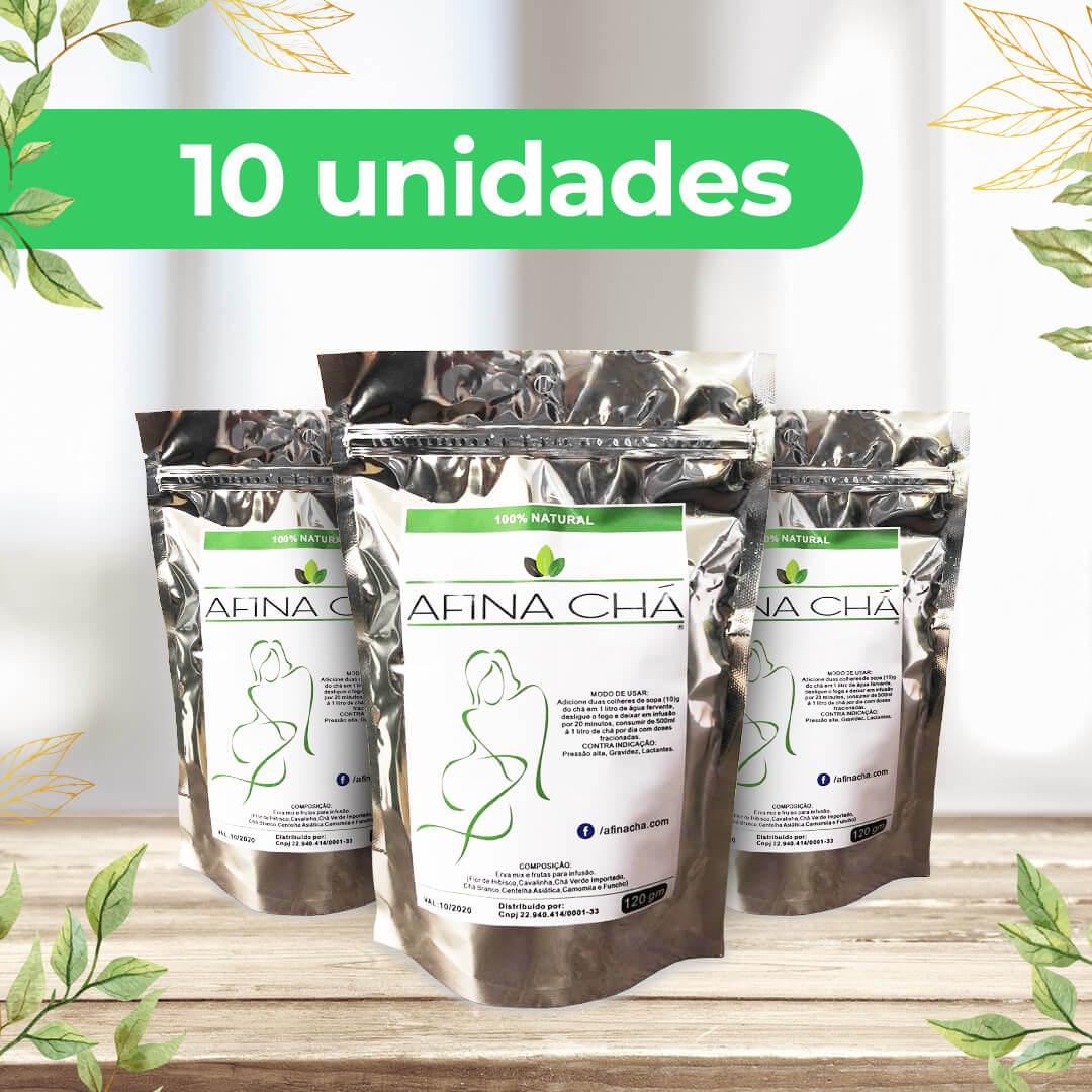 Kit Afina Chá - Pack com 10 Unidades