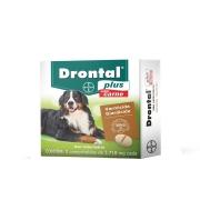 Bayer Drontal Plus Carne 35kg - 2 Comprimidos
