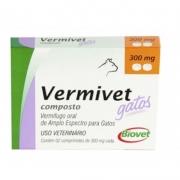 Biovet Vermivet Composto Gatos 2 Comprimidos