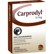 Ceva Carprodyl 75mg - 7 Comprimidos