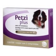 Ceva Petzi Plus 3,2g - 2 Comprimidos (40kg)