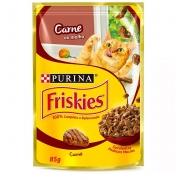 Friskies Sache Carne Ao Molho 85g