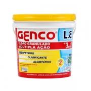 GENCO CLORO L.E (3 EM 1) 10KG